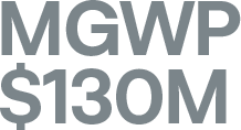 MGWP $130m – 2019